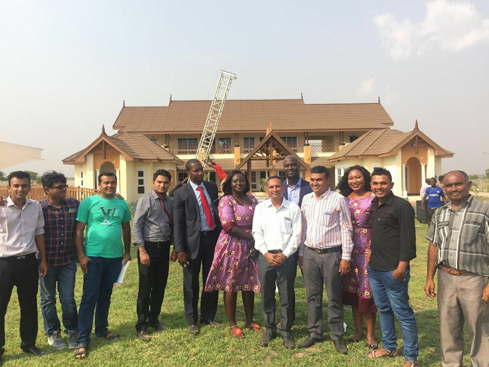 Swami India Ghana Limited has officially launched its first housing project in Ghana.