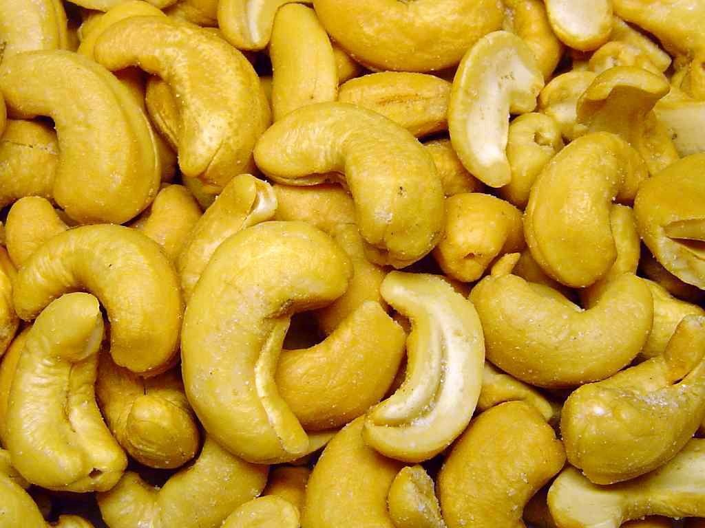 Cashew (Photo courtesy: Wikipedia)