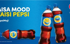Pepsi gears for summer with mini can, bottles with emojis