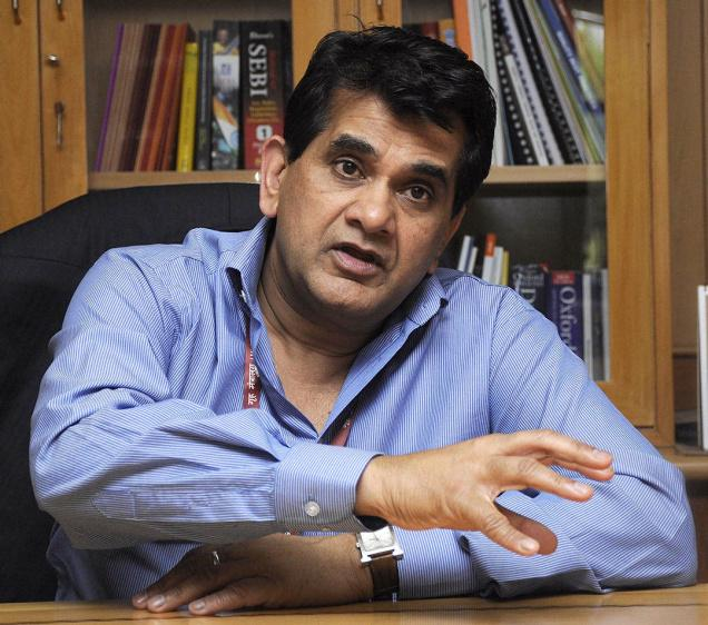 Niti Aayog Chief Executive Amitabh Kant