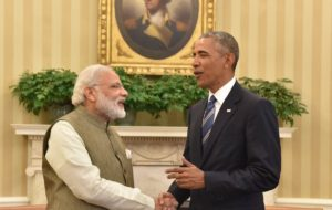 Modi, Obama hit one for the road, partners in defence