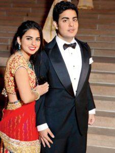 Isha and Akash Ambani (Photo courtesy: MidDay.com)