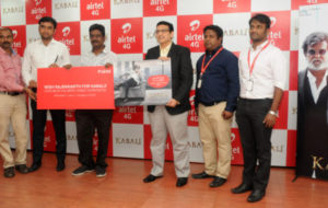 Airtel launches special 'Kabali' products and services