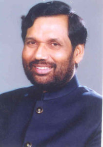 Ram Vilas Paswan, Minister of Consumer Affairs, Food and Public Distribution.