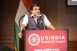 Washington, DC, USA - July 11, 2016: The U.S.-India Business Council hosts Minister of Road Transport and Highways & Shipping Nitin Gadkari .     Photo by Ian Wagreich / © U.S. Chamber of Commerce