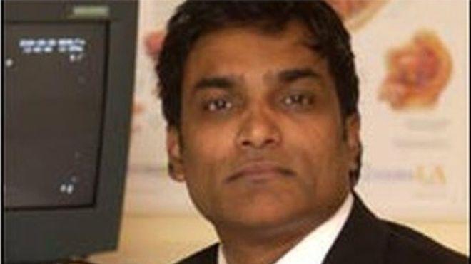Arackal Manu Nair (Photo courtesy: BBC)