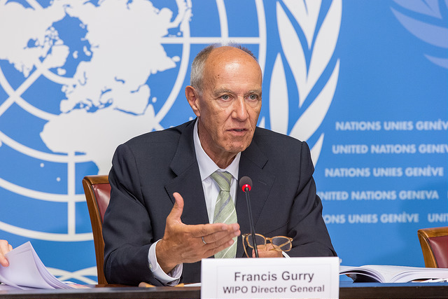 World Intellectual Property Organisation\'s Director General, Francis Gurry, at the release of the Global Innovation Index release in Geneva on Aug. 15, 2016. (Credit: WIPO/IANS)
