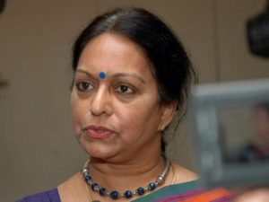Nalini Chidambaram (Photo courtesy: The Hindu)