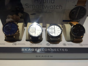 Fossil Group\'s Skagen debuts with Skagen Connected, a wearable technology line. (Photo: IANS)