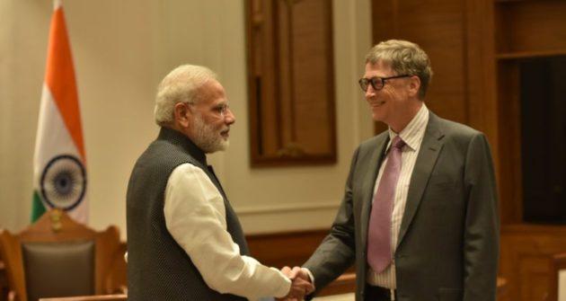 Trump's 'America First' policy worries Bill, Melinda Gates