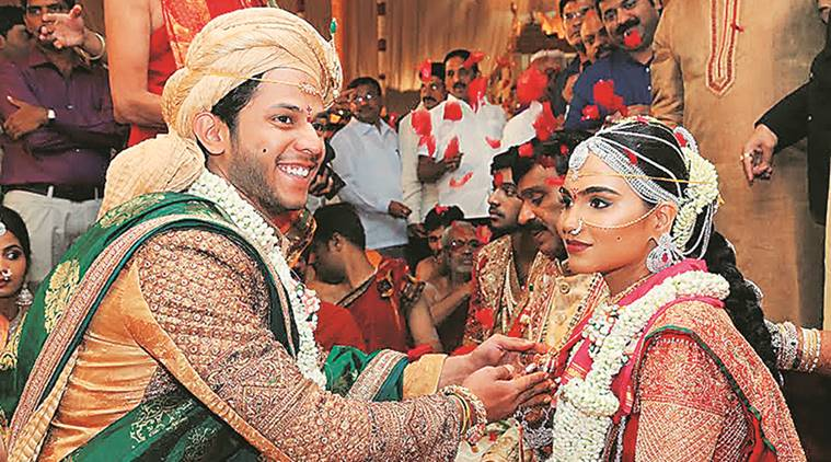 Reddy wedding (photo courtesy: Indian Express)