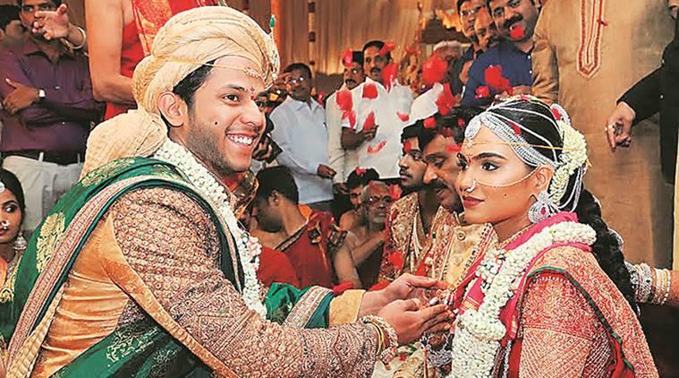 Reddy wedding (photo courtesy: Indian Express)