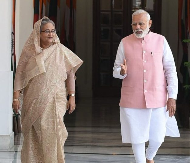Bangladesh PM Sheikh Hasina accorded ceremonial welcome
