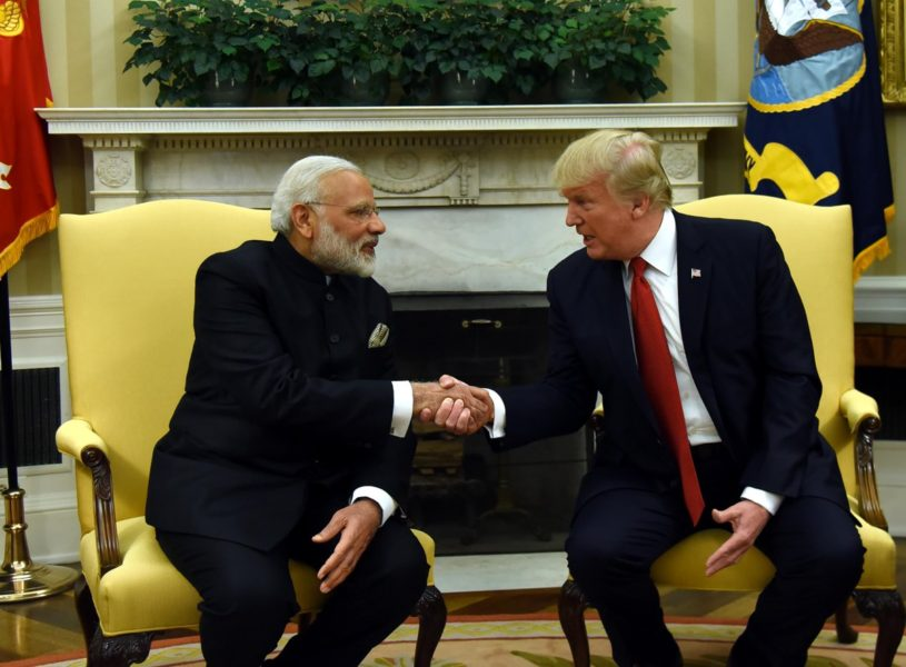 india us trade relations The first face-to-face meeting between us president donald trump and indian prime minister narendra modi was sealed with a bear hug monday, as the two leaders looked to publicly underscore their .