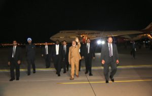 Modi arrives in US