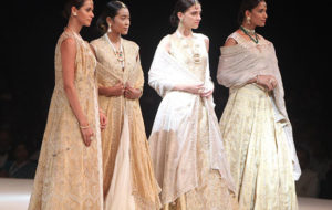 Symphony of Weaves mesmerizes at Textiles India 2017