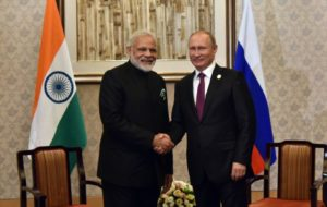Modi, Putin discuss trade, bilateral ties BRICS summit